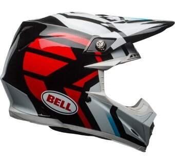 Шлем Bell Moto-9 Mips District Helmet /BLK/RD - XXL