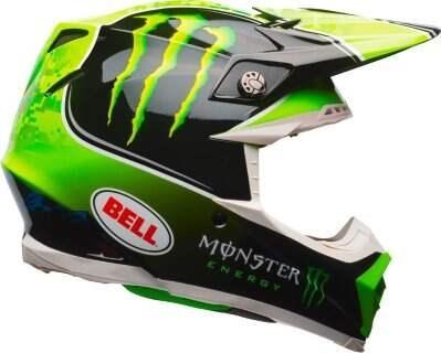 Шлем Bell Moto-9 Mips Tomac Replica Blk/Grn - S