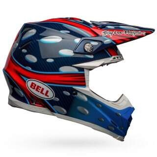 Шлем Bell MOTO-9 FLEX MCGRATH BL/RD/BK - M