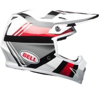 Шлем Bell Mx-9 Mips Marauder Wht Blk/Red - XXL