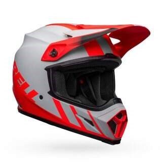 Шлем Bell MX-9 MIPS Matte Grey/Infrared/Blk - XL