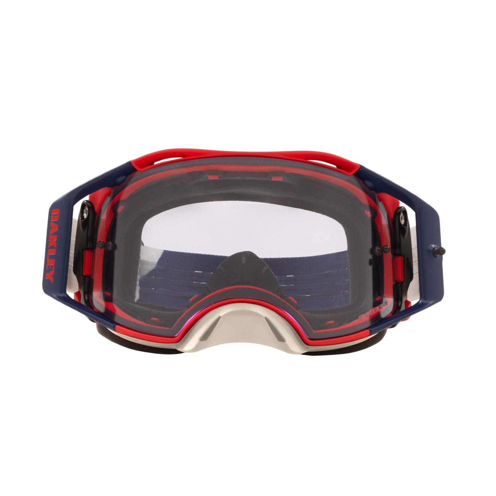 Маска Oakley Airbrake MX Goggles Blue Prizm Low Light