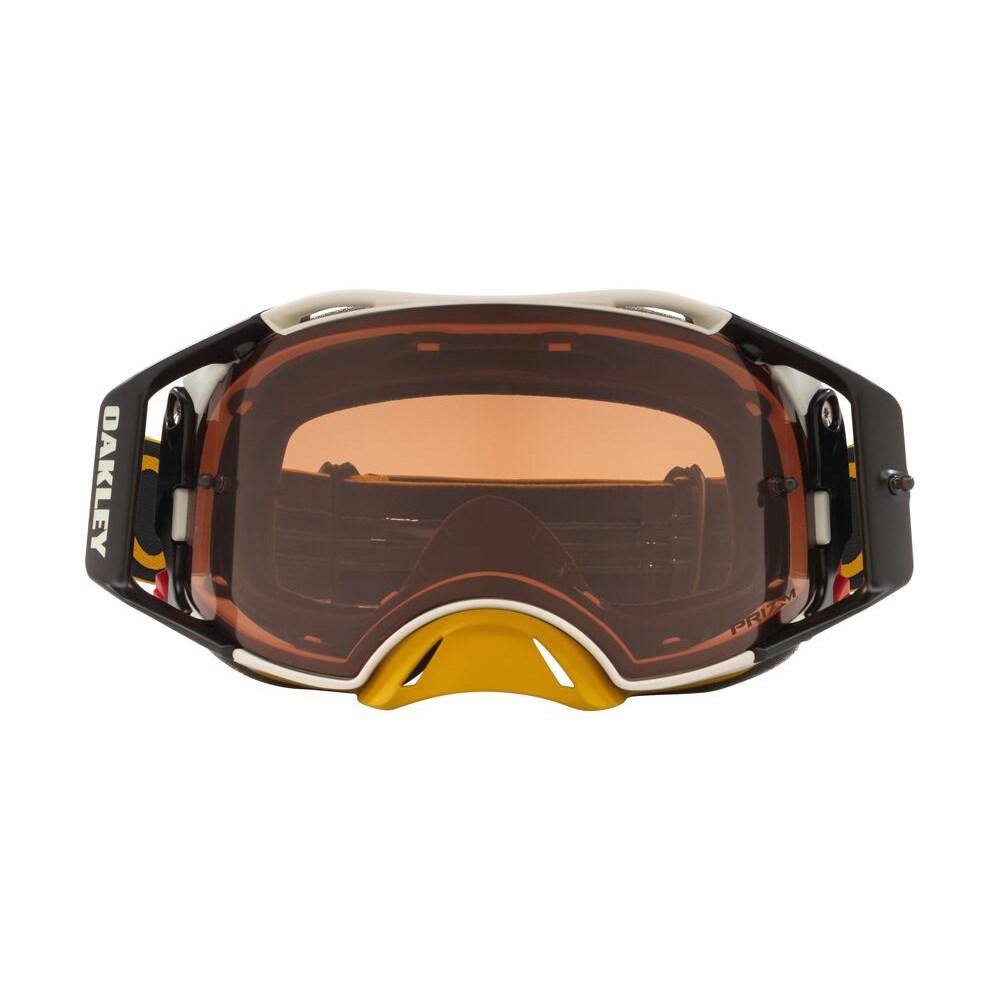 Маска Oakley Airbrake MX Hazard Gunmetal Gold