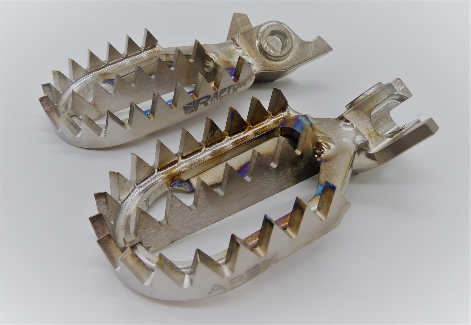 Подножки Raptor Titanium Apex Honda