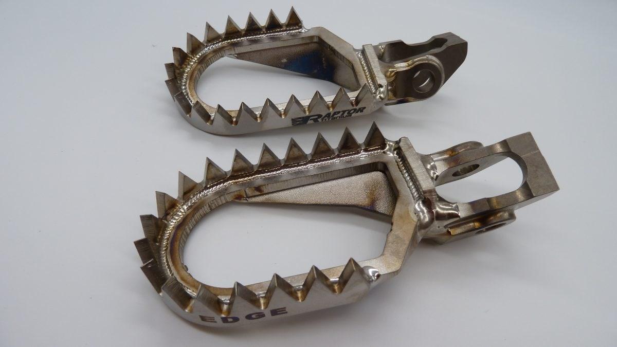 Подножки Raptor Titanium Edge KTM