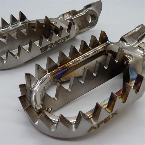 Подножки Raptor Titanium Apex KTM - фото 5601