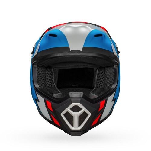 Шлем BELL MX-9 MIPS STRIKE MATTE BLACK/BLUE/WHITE - фото 6002