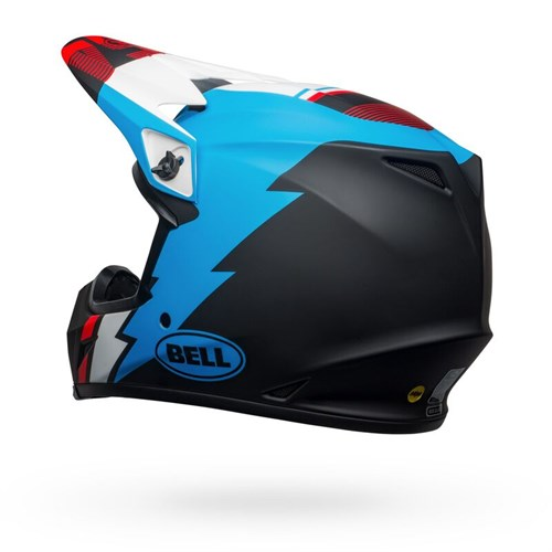 Шлем BELL MX-9 MIPS STRIKE MATTE BLACK/BLUE/WHITE - фото 6005